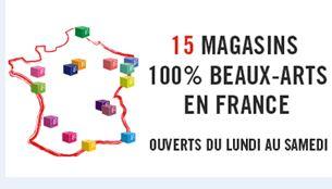 G ant des beaux arts fournisseur des artistes almanart - Geant des beaux arts catalogue ...