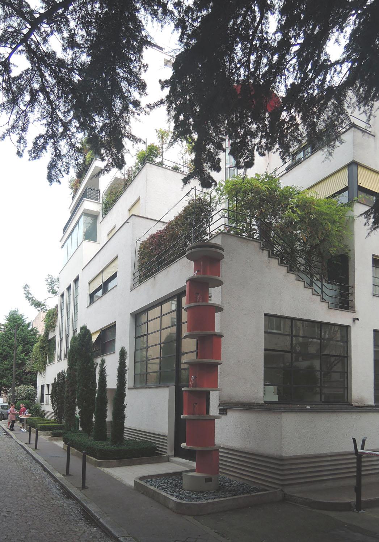 Top architecture Art Déco : la rue Mallet-Stevens - Almanart PM98