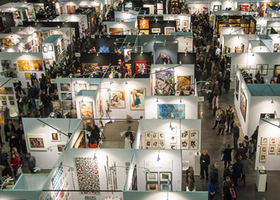 salon foire art contemporain