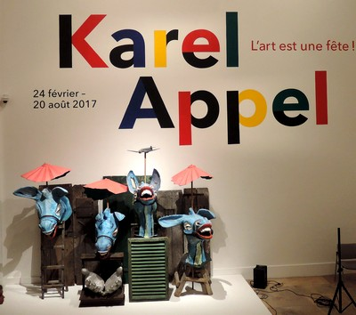 Karel Appel au MAMVP Musée d'Art Moderne ville de Paris art contemporain