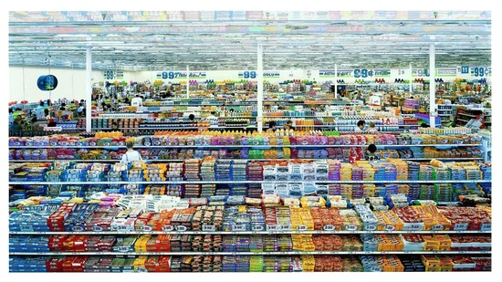 photographie Andreas Gursky, 99 Cent