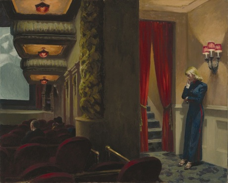 art Peinture Américaine Edward Hopper New York Movie