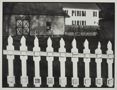 photographie Paul Strand, The White Fence