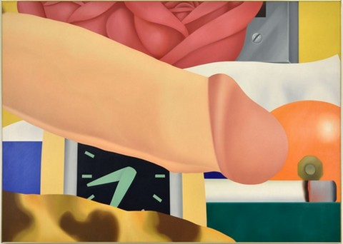 Tom Wesselmann Bedroom-Painting