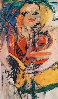art moderne Willem De Kooning, tableau Marilyn Monroe