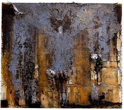Anselm Kiefer, La-Cathedrales-de-France art moderne