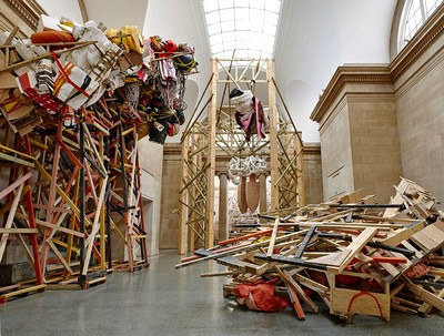 Phyllida Barlow Britain Pavilion Venice International Art Biennale  2017