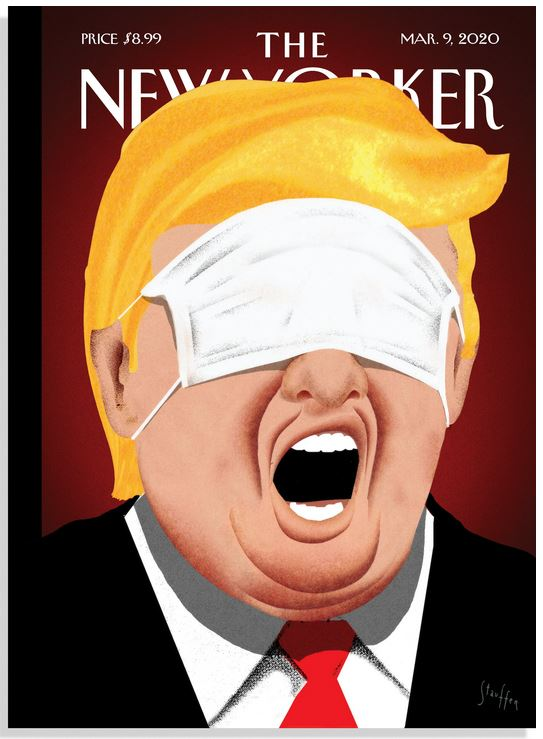 Trump on the New-Yorker Brian Stauffer Under Control