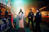 David LaChapelle ou David La Chapelle Jesus Intervention