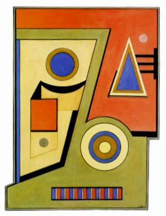 Comprendre l 39 art abstrait almanart for Abstraction geometrique peinture