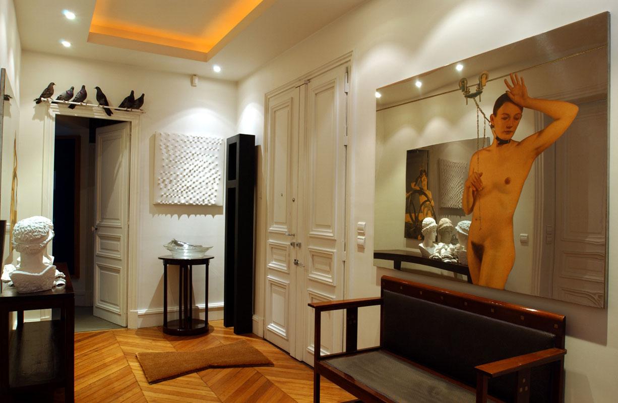 Pin exemple d co entr e vestibule on pinterest for Amenagement vestibule maison