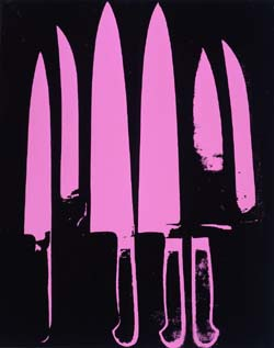 Andy Warhol Knives