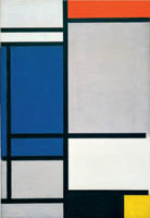 Piet Mondrian Compostion,