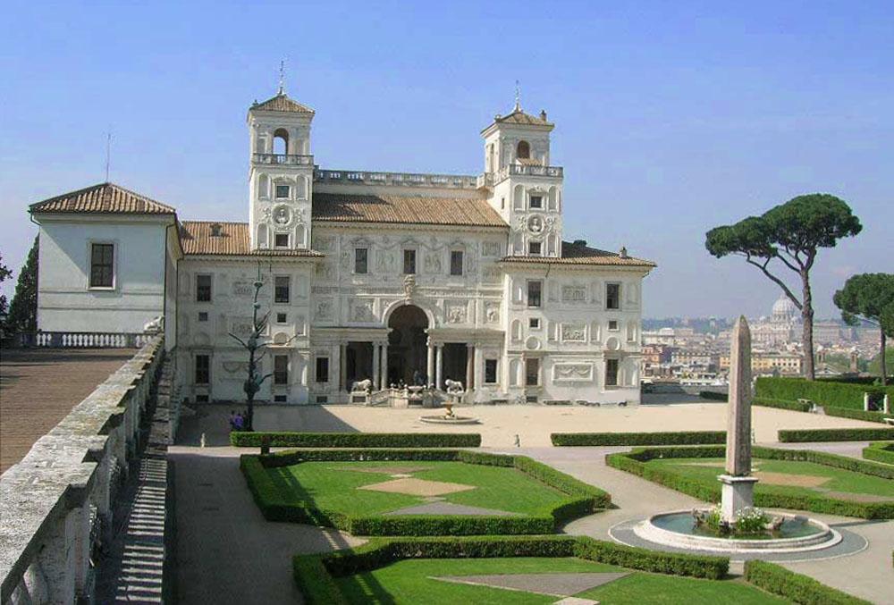 Visite Villa Medicis Rome