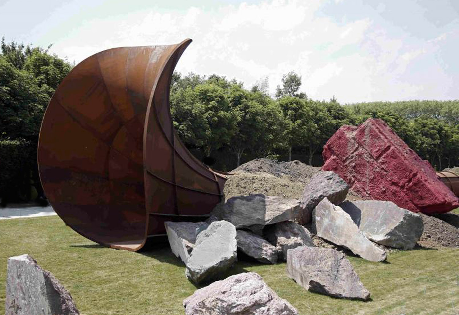Anish Kapoor, Dirty Corner
