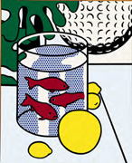 Roy Lichtenstein Still Life with Goldfish
